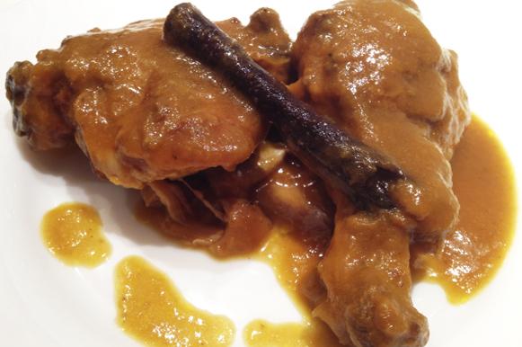 pollo canela