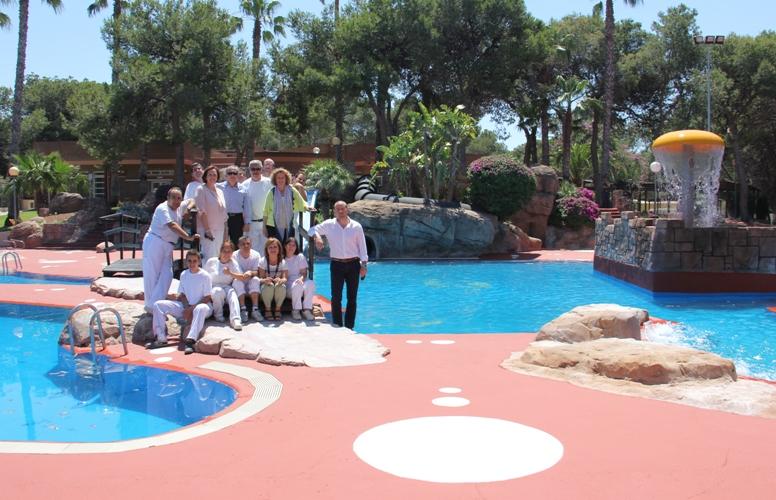 la piscina municipal parc vedat refresca el verano en